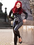 Latex Catsuit in Dresden